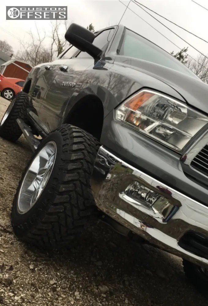 0 Ram Dodge 20x12 Offset Moto Metal 962