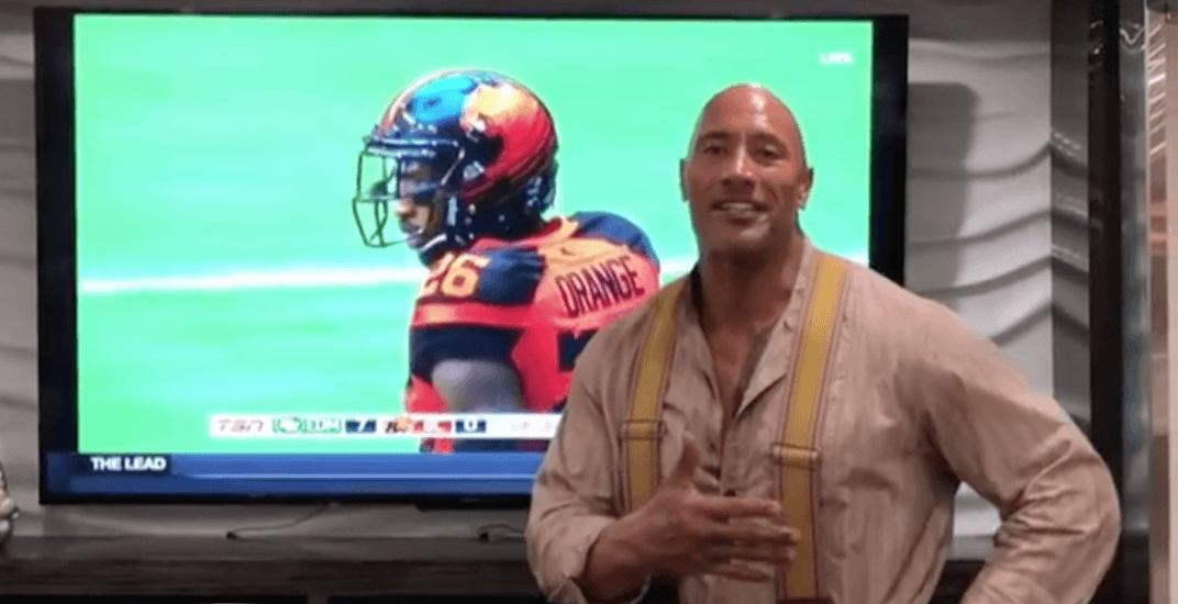 The Rock Shows Love For Wally Buono During Inspiring Video