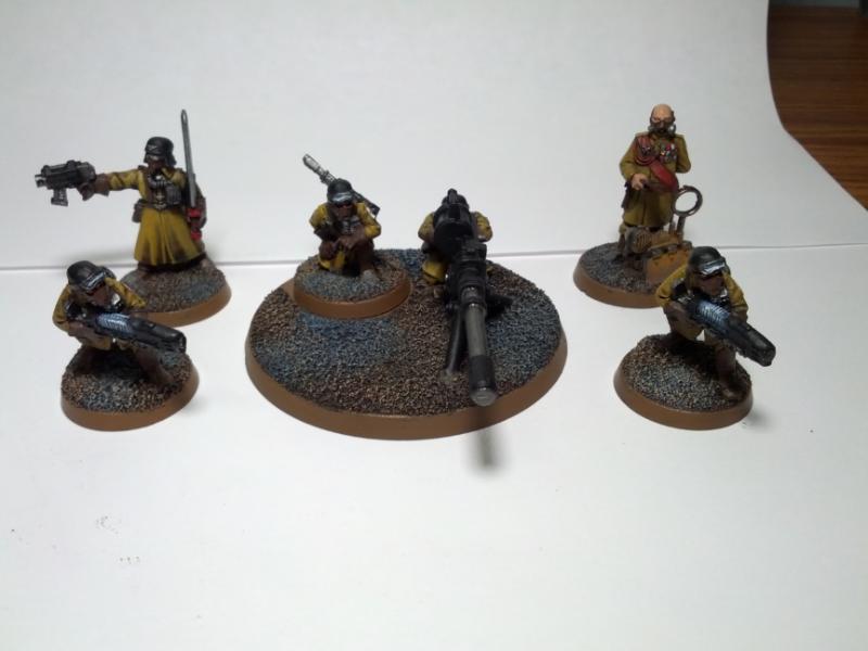 Command, Legion, Squad, Steel - Steel Legion Command Squad ...