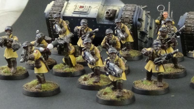 March of the Steel Legion - Imperial Guard Showcase ...