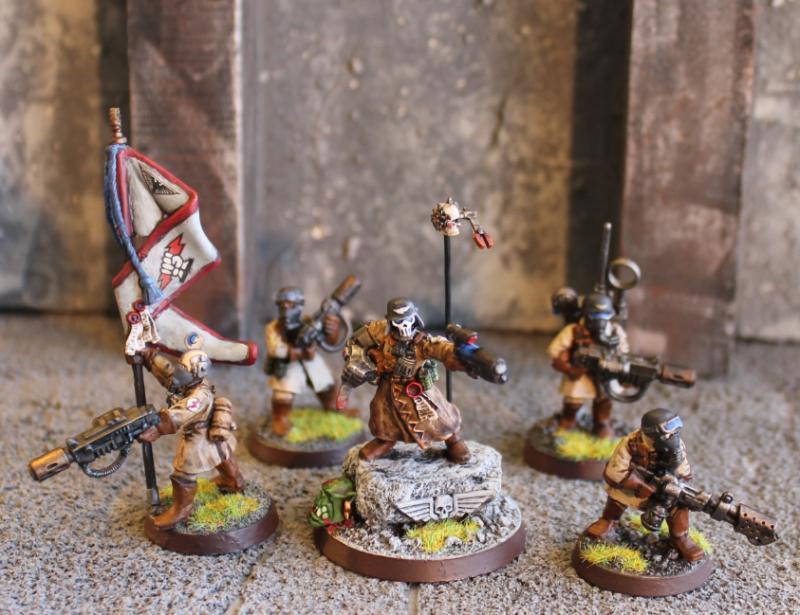 Astra Militarum, Command Squad, Conversion, Imperial Guard ...