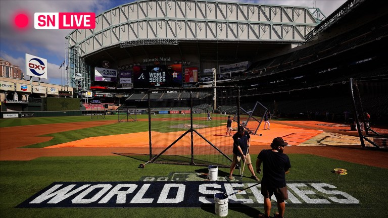 Watch Astros vs. Braves reside rating, updates, highlights from Game 1 of the 2021 World Collection – Google MLB News