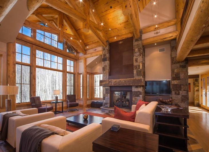 19 Rustic Living Room Designs Decorating Ideas Design