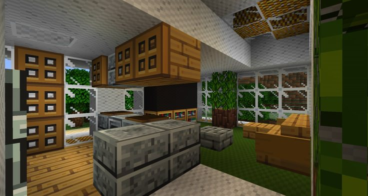 Minecraft Interior Kitchen