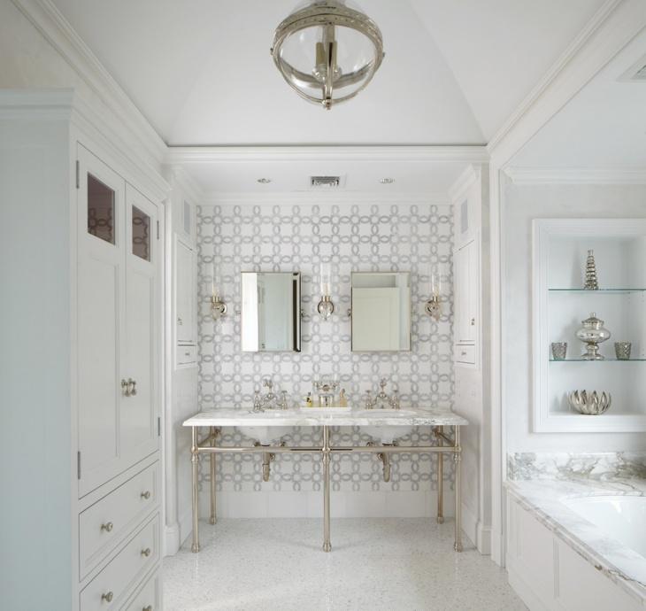 Black And White Tile Kitchen Floor