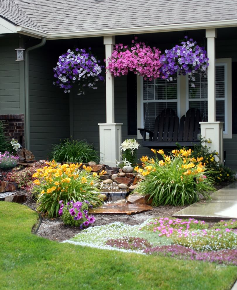 22 Flower Pot Garden Designs Decorating Ideas Design