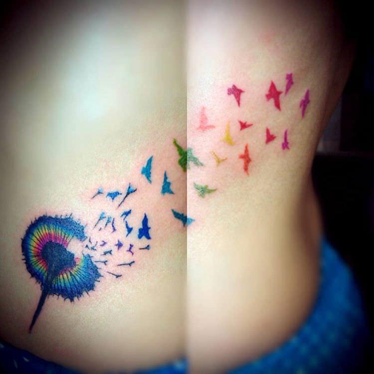26 Dandelion Tattoo Designs Ideas Design Trends