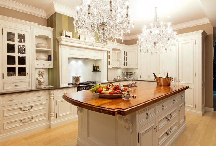 L Shaped Shaker Kitchen