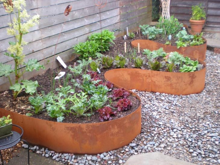 Raised Rock Garden Ideas