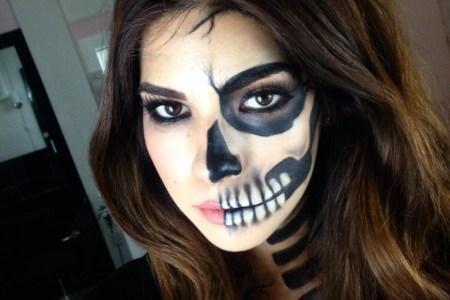 Easy Cute Skull Makeup Makeupsite