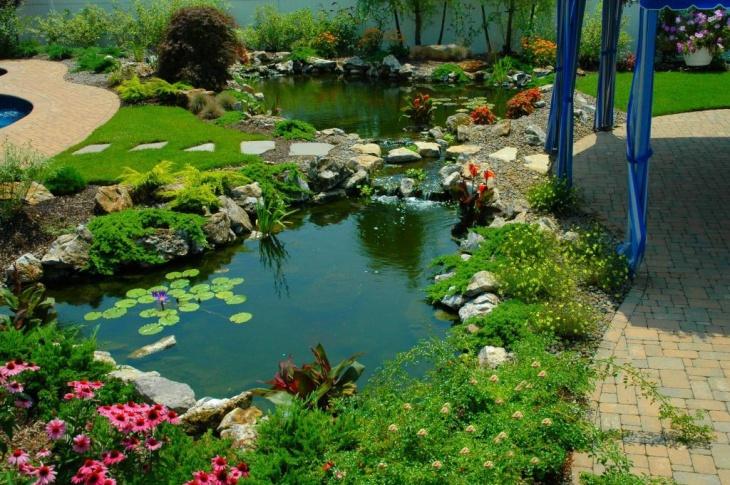 Modern Garden Pond Designs