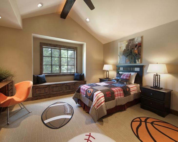 17 Sports Bedroom Designs Ideas Design Trends