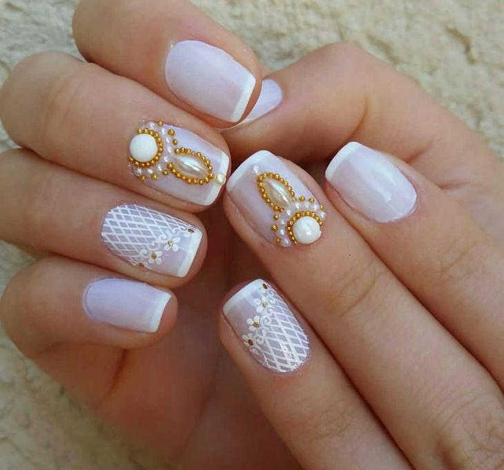 Cute Nail Designs For Weddings
