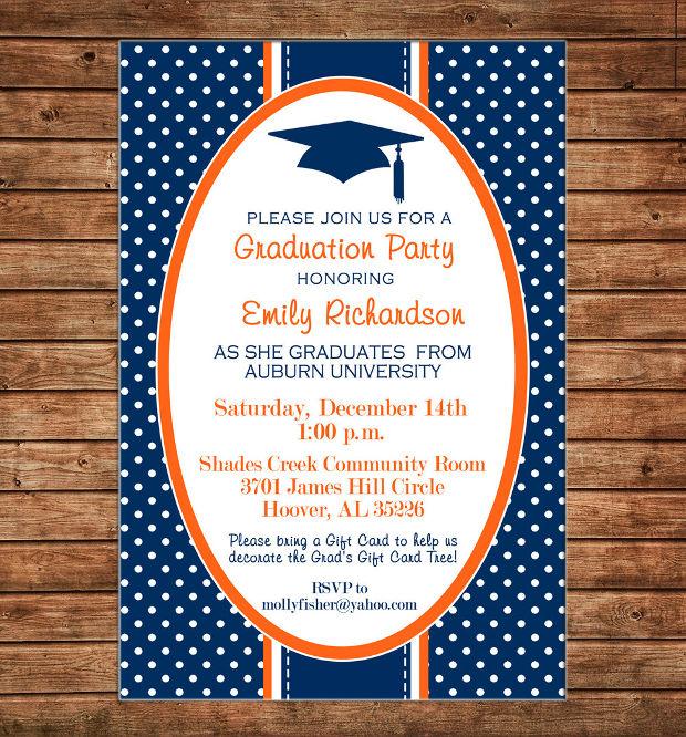 Simple Graduation Invitations