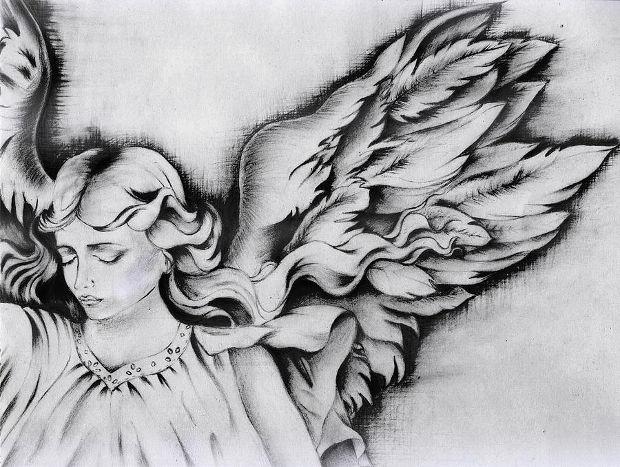 Drawings Fallen Easy Angel