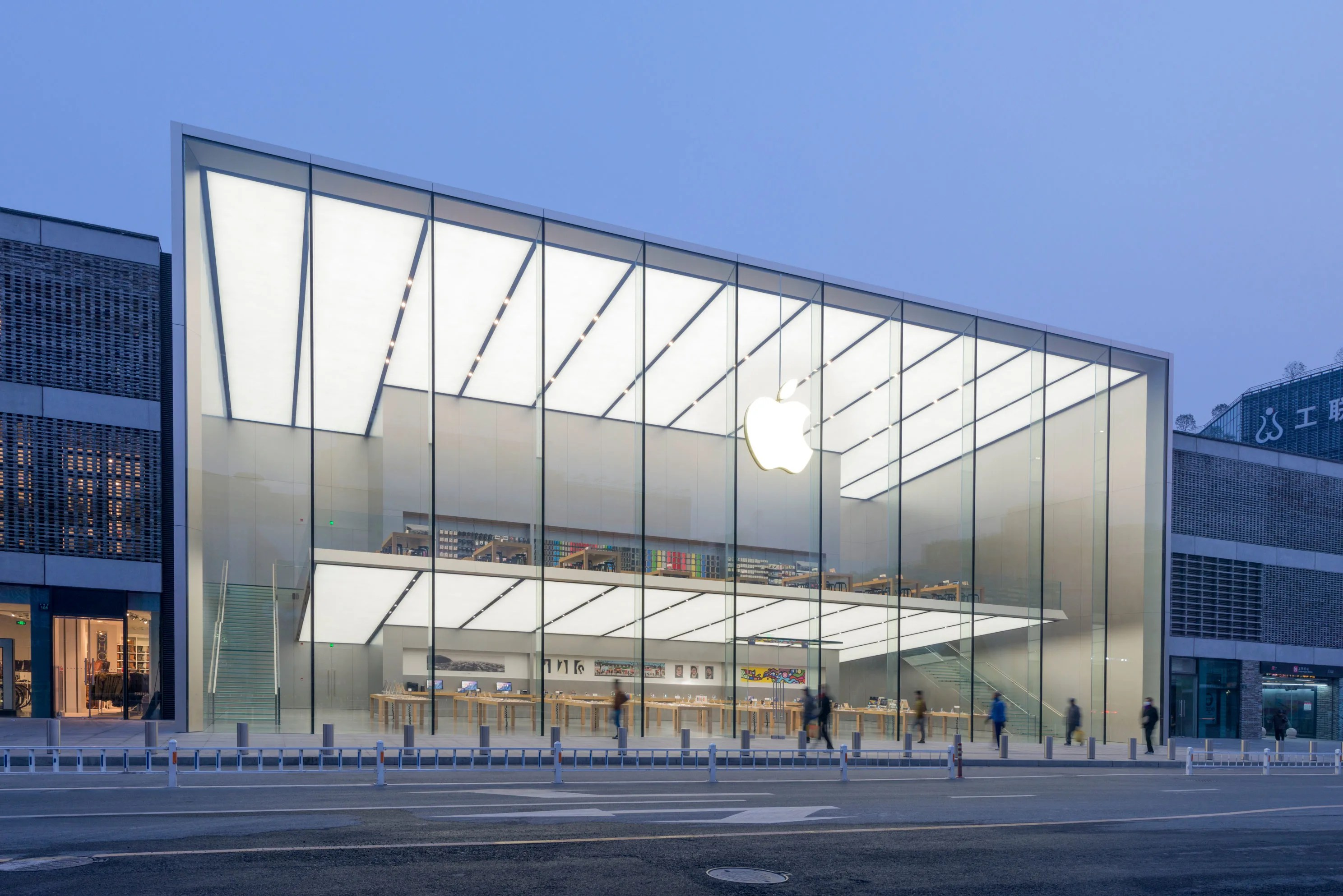 Foster   Partners  Nigel Young      Westlake Apple Store      Divisare Foster   Partners  Nigel Young      Westlake Apple Store
