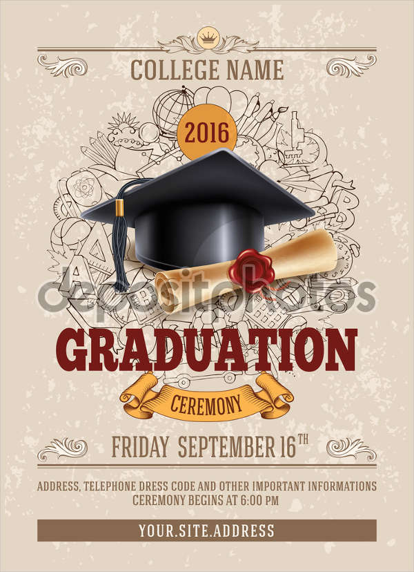 Printable Graduation Invitations 2017