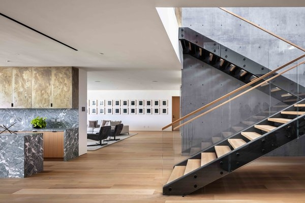 Best 22 Modern Staircase Glass Railing Wood Railing Design Photos   Staircase Railing Designs In Wood And Glass   Frosted Glass   Low Cost   Stair Handrail   Wooden   Solid Wood