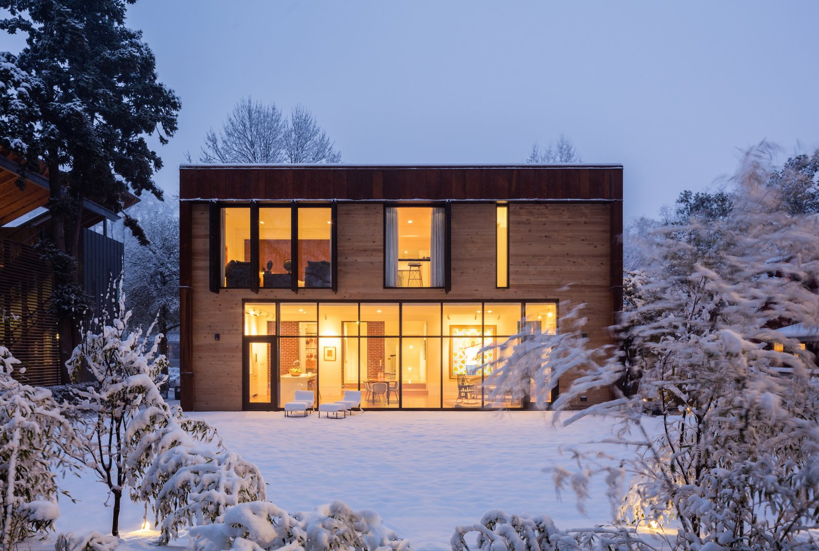 Hillcrest House Addition An Innovative Approach To Old