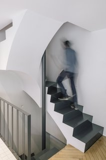 Best 60 Modern Staircase Design Photos And Ideas Dwell | House Design With Stairs In Front | Victorian | Second Floor | Colour | Residential | Low Cost 2 Bhk House