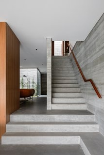 Best 60 Modern Staircase Design Photos And Ideas Dwell | Two Story Staircase Designs | Entryway | Stunning | Glass | Two Storey House | 2 Story