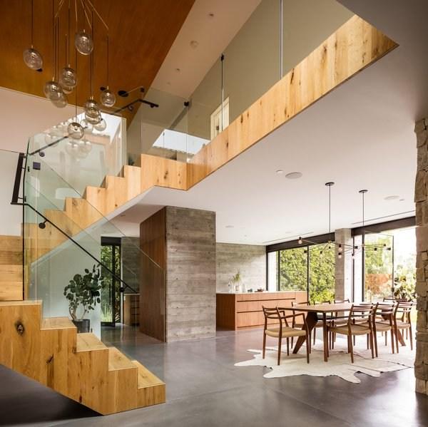 Best 60 Modern Staircase Glass Railing Design Photos And Ideas | Best Railing Design For Stairs | Balusters | Modern Stair | Cable Railing | Staircase Remodel | Glass Railing