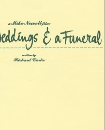 Four Weddings And A Funeral Book - Four Wedding Ideas