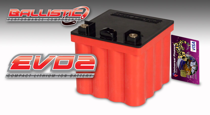 Ballistic Evo2 16cell Compact Lithium Ion Battery Race