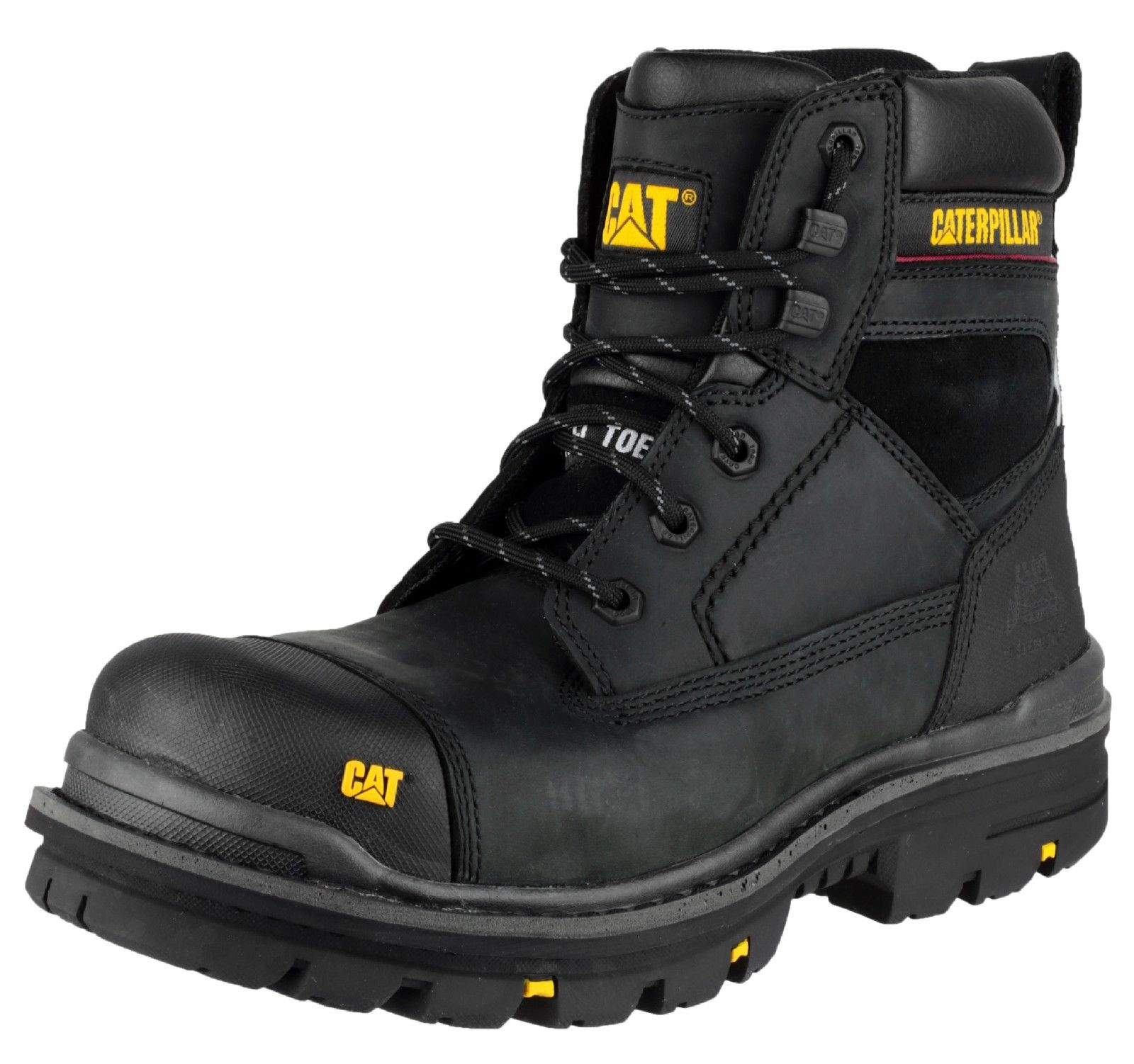 Black Waterproof Boots Men