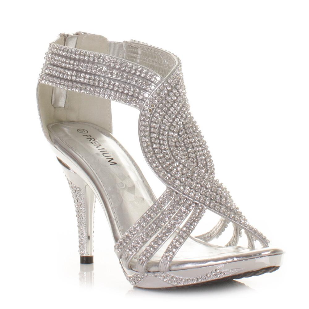 Silver Bridal Shoes