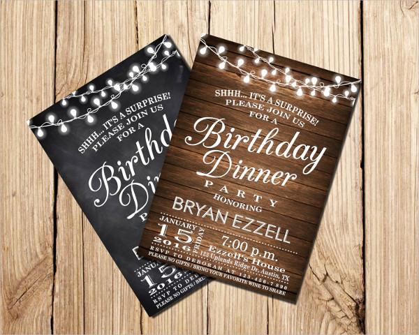 Birthday Wedding Invitations