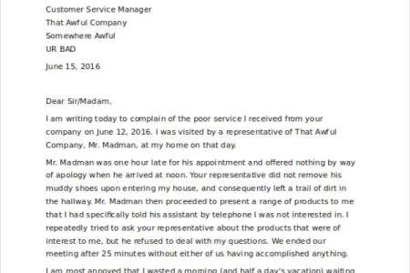 Airline complaint letter sample free professional resume complaint letter about overbooked flight complaint letters complaint letter templates awesome collection of plaint letter templates free sample resume best spiritdancerdesigns Choice Image