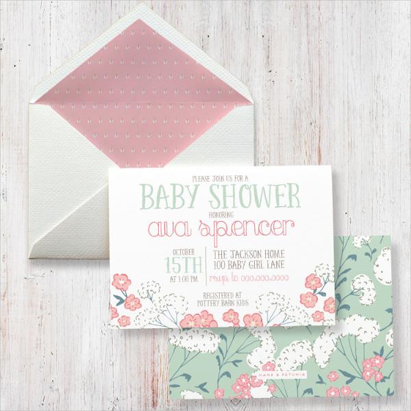 Baby Shower Envelopes