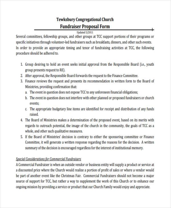 Concrete Proposal Template