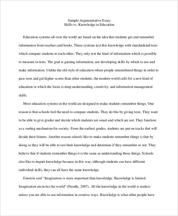 Expository Writing Student Samples