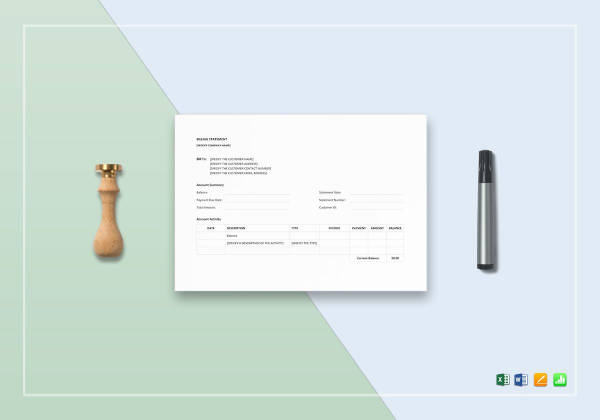 images for invoice statement template