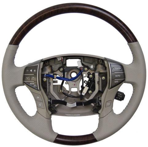 2011 2012 Toyota Avalon Steering Wheel New Grey W