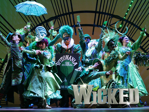 Wicked Broadway Logo Play