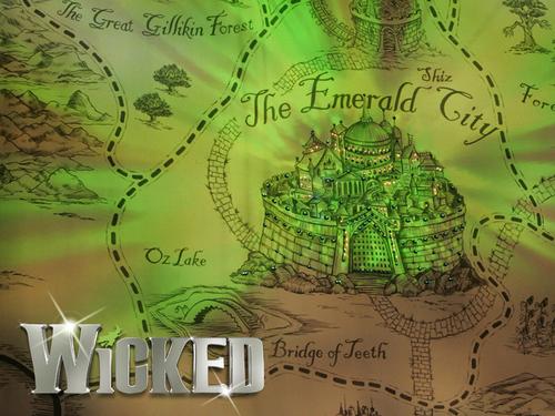 Wicked Broadway Play Logo