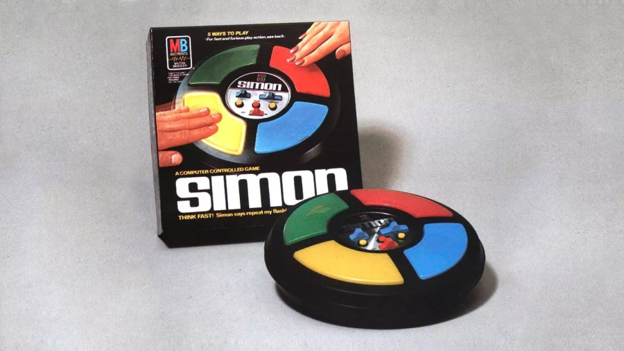 40 Years Of Simon  The Electronic Game That Never Stops Reinventing It