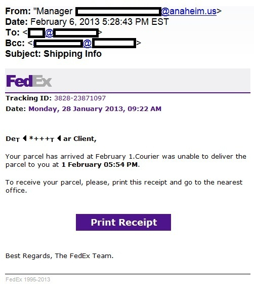 Fedex Security Manager