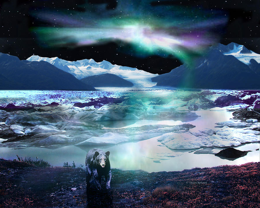 Northern Lights Canvas Wall Art