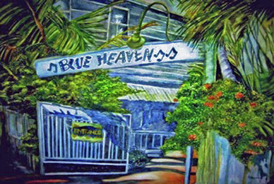 Key West Art Galleries Dogs Go Hevan