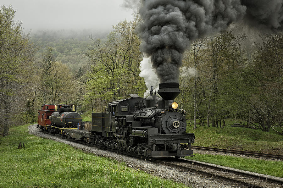 steam locomotives on sand patch grade - 900×598