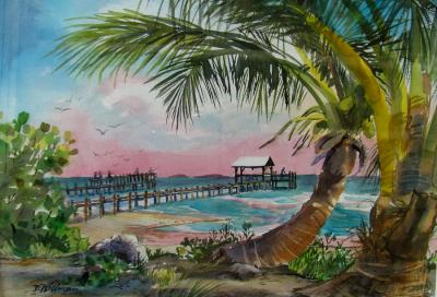 Island Breeze Painting by Dianna Willman