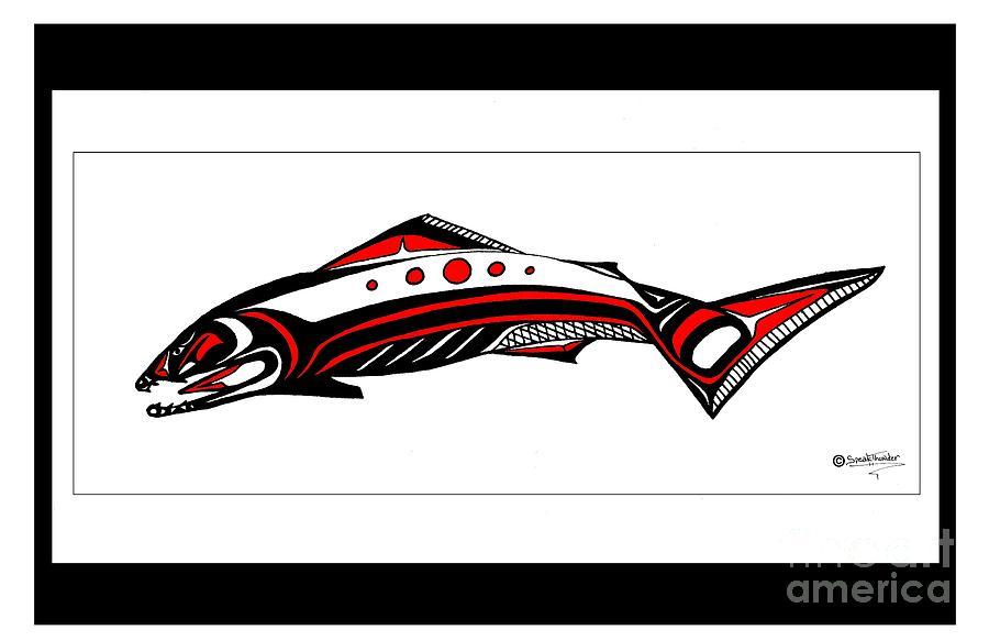 Salmon Wall Art