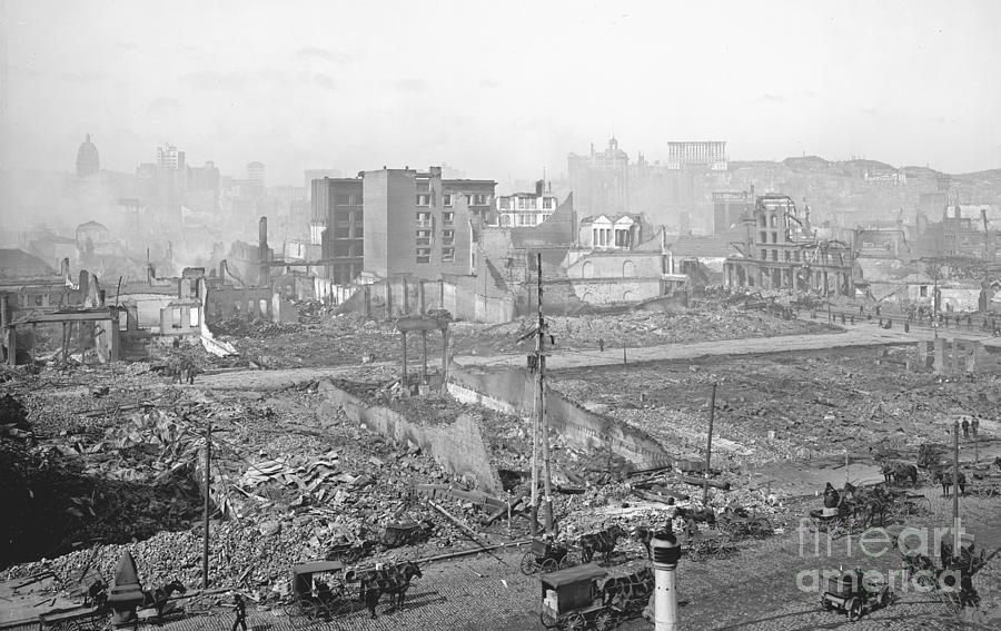 1906 Damage San Earthquake Francisco