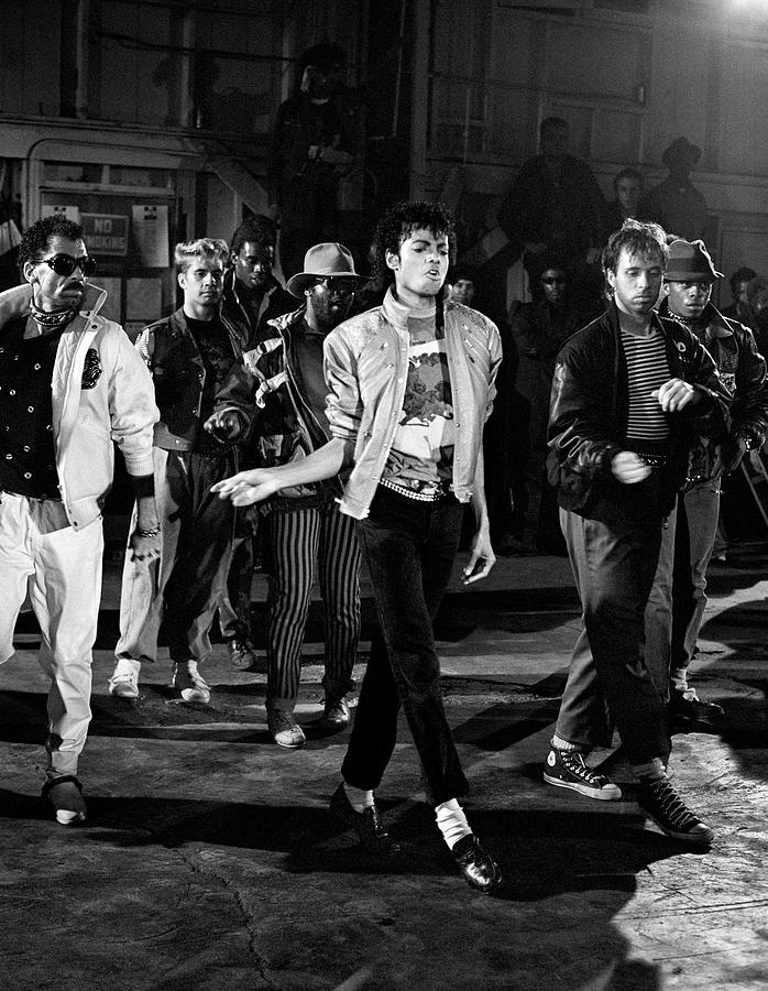 Michael Jackson - Beat It Photograph by Chris Walter