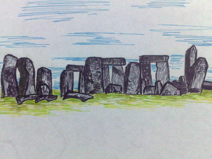 stonehenge sketchbook - 900×675
