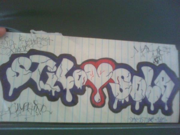 Vanessa Name Graffiti